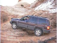 Tom Zehrbach's ZJ in Moab