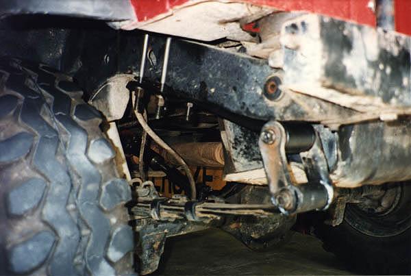 3 4 Elliptical Rear Suspension