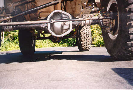 Swapping an Early Bronco Front Dana 44 into a YJ