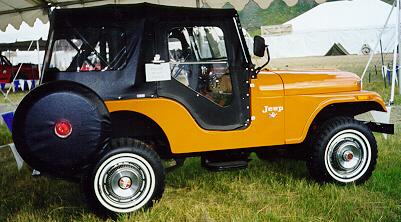 The Vintage Jeep Barn  CJ5